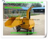 Chariot à bois hydraulique à auto-alimentation, Broyeur à bois Broyeur