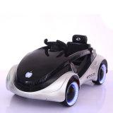 Conduite électrique de double enfant à télécommande de batterie sur le véhicule