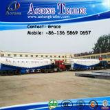 La Cina Factory Tri-Axle Dry Bulk Cement Tanker, Cement Bulker Tank Truck Trailers con Air Compressor