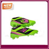 Chaussures vert clair bon marché du football de couleurs d'usine (YHS012)