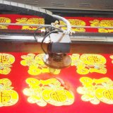 La tagliatrice dell'incisione del laser dei materiali del metallo del laser del CO2 non per tessuto di cuoio calza la marcatura
