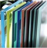 공간 또는 우유 또는 백색 또는 착색된 박판으로 만들어진 유리 부드럽게 한 박판으로 만들어진 또는 부드럽게 한 낮은 E 박판으로 만들어진 유리 또는 단단하게 해 착색해 (JINBO)