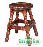 Antiqued классической деревянной открытый бар табурет (JC-Y020C)