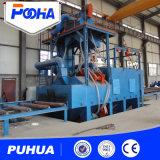 Máquina de sopro do tiro do transporte da base do rolo para a extração de poeira