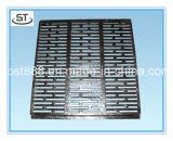 Решетки буерака чугуна En124 B125 квадратные с рамкой