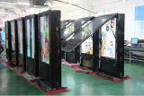 quiosque ao ar livre de 75inch LCD com sistema refrigerando