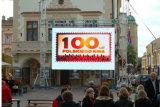 HD P4.81 Location Afficheur à LED pour l'étape de la publicité