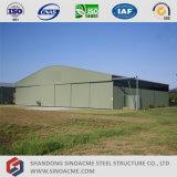 Estrutura de aço leve Pre-Engineered Sinoacme Hangar de aeronaves