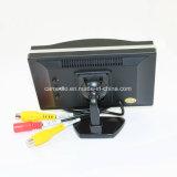 バックアップカメラDVDビデオデッキを逆転させるための5inchデジタル表示装置の風防ガラスTFT LCD車のモニタ