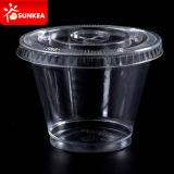 مستهلكة مصغّرة بلاستيكيّة بودنغ/مرق/مذاق فنجان مع غطاء