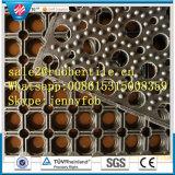 Zuurvaste Industriële RubberMat, Mat van de Vloer van de Drainage de Rubber