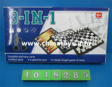 presente de promoção de plástico de brinquedos educativos a jogar o jogo de xadrez (1018293)
