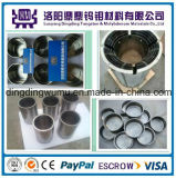 Creusets de molybdène de creusets de creuset de tungstène de grande pureté de Customed/creusets pour le four de croissance de saphir avec le prix usine