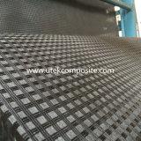 Bitumen Met een laag bedekte Polyester Geogrid met Lichtgewicht Niet-geweven