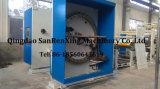 Machine de revêtement à rouleaux thermofusibles à étiquette adhésive
