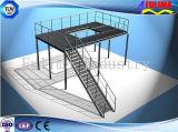 Plataforma de acero con bajo costo
