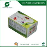 Изготовленный на заказ коробка цвета упаковки подарка бумаги картона печатание
