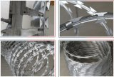 Сразу колючая проволока бритвы поставкы сделанная в Китае