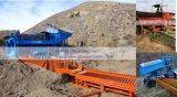 Fábrica de tratamento completa do minério de Tinstone da pequena escala, planta móvel de lavagem da tela do minério de Tinstone para o processamento de Tinstone