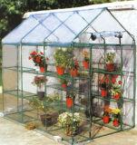 Flor de PVC em PVC exterior decorativa, estufa de vegetais para venda