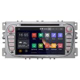 HD Screen、Canbus、Capacitive ScreenのフォードFocus Mondeo SMax Kuga GPS Navigationのための7インチ2 DIN Android 4.4 Car Audio