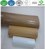 Het enige PE Met een laag bedekte Document van Kraftpapier voor de Verpakking van het Snelle Voedsel