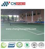 バッファリングの効果、アクリルのクッションの層の弾力性のあるスポーツ裁判所