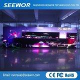 Haute résolution P4 Afficheur à LED avec armoire 500*500
