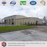 Сарай стальной структуры высокого качества портальный полуфабрикат