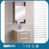 Heiße Verkauf MDF-Melamin-Badezimmer-Eitelkeit mit Spiegel-Schrank (SW-ML1203B)