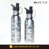 Nuova bottiglia di acqua di sport dell'acciaio inossidabile di produzione 2017