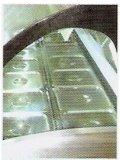 De commerciële Diepvriezer van de Opslag van de Vertoning van het Roomijs Gelato met 6 Platen van het Roestvrij staal