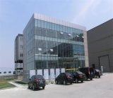 Edificio de oficinas de las estructuras metálicas prefabricadas
