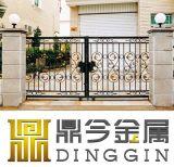Material de hierro forjado personalizadas Decoartion puerta
