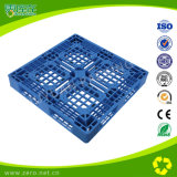 De blauwe Plastic Pallet van het Gezicht van de Kleur Dubbele