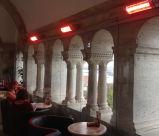 Calentador de Patio eléctricos para calefacción de restaurantes y hoteles