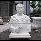 Busto bianco di Carrara per il regalo Ms-2001