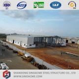 Sinoacmeの移動可能な鉄骨構造の研修会の構築