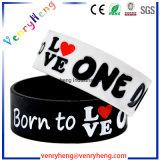Bracelet en caoutchouc en silicone gaufré / Debossed pour cadeaux promotionnels