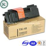 Kompatible schwarze Kopierer-Toner-Kassette für TK-18