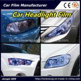 L'autoadesivo chiaro del vinile dell'automobile della pellicola dell'automobile colora le pellicole del vinile della tinta del faro dell'automobile 30cmx9m