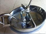 Hygienische Edelstahl-Kreis-Druckbehälter-Becken-Einsteigeloch-Deckel (ACE-RK-A5)