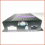 安い720p 4チャネルのバス車の手段のタクシーのための移動式ビデオ監視カメラそしてSDのカードDVR