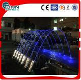 Напольное украшение сада скача ламинарный фонтан сада фонтана воды двигателя