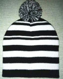 Beautiful Stripe Keep Warm Knitting Cap (S-1077)