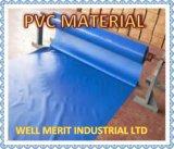 Material de PVC personalizadas Multi Color lona impermeable