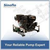bewegliche Motor-Vakuumgrundieren-Feuer-Wasser-Pumpe des Benzin-14HP