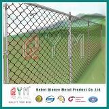 標準マルチポストの塀はチェーン・リンクの塀の庭の塀を分ける
