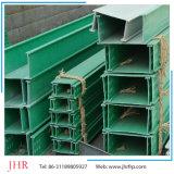 Aislamiento térmico y eléctrico de la plaza de perfiles de tubo de plástico reforzado con fibra para la industria