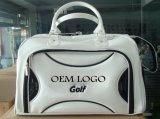 Kundenspezifischer Firmenzeichen PU-Golf-Boston-Beutel-Tuch-Beutel